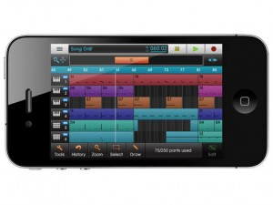 Music creation app Nanostudio