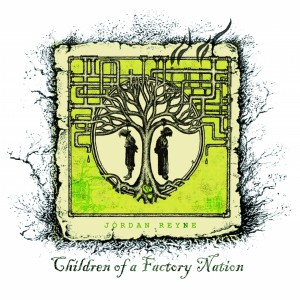singer jordan reyne - album art - children of a factory nation - 2011